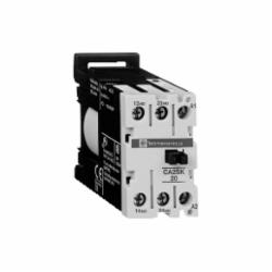 Schneider Electric CA3SK11BD IEC CONTROL RELAY 24 VDC,-20...50 deg.C,1 NO + 1 NC,10 A at <= 55 deg.C,110 V DC,AC-15, DC-13,IP2x,TeSys,UL, CSA, IEC,control circuit,control relay,plate-rail,screw clamp
