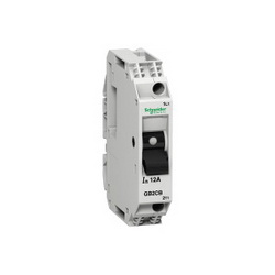 Schneider Electric GB2CB07 2.0A CIRCUIT PROTECTOR,#16 to #12 AWG,250 V AC 50/60 Hz conforming to IEC 60947-2-277 V AC 50/60 Hz conforming to UL 1077-277 V AC 50/60 Hz conforming to CSA C22.2 No 14-48 V DC,2A,GB2,vertical-horizontal,Track (DIN3/DIN1),UL Recognized File E164873 CCN QVNU2 - CSA Certified File LR25490 Class 2115 01 - CE Marked,circuit breaker,set of 6