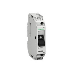 Schneider Electric GB2CB16 10A CIRCUIT PROTECTOR,#16 to #12 AWG,10A,277 V AC 50/60 Hz conforming to UL 1077-250 V AC 50/60 Hz conforming to IEC 60947-2-277 V AC 50/60 Hz conforming to CSA C22.2 No 14-48 V DC,GB2,vertical-horizontal,Track (DIN3/DIN1),UL Recognized File E164873 CCN QVNU2 - CSA Certified File LR25490 Class 2115 01 - CE Marked,circuit breaker,set of 6