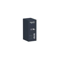 Schneider Electric RSB2A080BDS RELAY+SOCKET 250VAC 8A RSB,-40...70 deg.C (AC)--40...85 deg.C (DC),1440 Ohm (DC) at 20 deg.C +/- 10 ,2 C/O,interface relay,plug-in relay