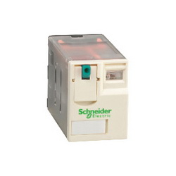 Schneider Electric RXM4AB1BD PLUG-IN RELAY 250V 6A RXM +OPTIONS,(NO) AC 20ms DC 20ms (NC) AC 20ms DC 20ms,-40...55 deg.C,1200 operating cycles/hour,24 VDC,4 C/O,650 Ohm at 20 deg.C +/- 10 ,6A,B300,Flat/Spade (Faston Type),IP 40 conforming to IEC/EN 60529,Miniature,plug-in relay,Plug-In Socket (DIN rail or Flange with adapter),UL Listed - CSA Certified - CE Marked - RoHS Compliant
