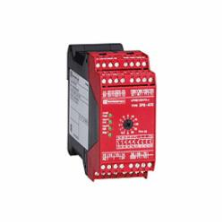 Schneider Electric XPSATE5110 Safety Relay with Timing Function, 24 V,24 V DC,35 mm symmetrical DIN rail,CSA, T?V, UL, EN/IEC 60204-1, EN/IEC 60947-5-1, EN/ISO 13850,IP20 conforming to EN/IEC 60529(terminals), IP40 conforming to EN/IEC 60529(enclosure),Preventa,Preventa Safety automation,emergency stop button with 2 NC contacts,for emergency stop and switch monitoring,Preventa safety module,captive screw clamp terminals,relay instantaneous opening 2 NO, relay time delay opening 3 NO