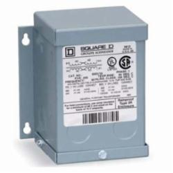 Square D 2S1F TRANSFORMER DRY 2KVA 240X480V-120/240V,1 phase,115 Degrees C,120/240VAC,180 deg.C,2 kVA,240 x 480VAC,Dry Sealed Transformer,General Purpose - Intended for power, heating and lighting applications,NEMA 3R,Wall,cULus Listed