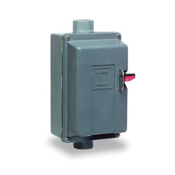 Square D 2510MCW1 MANUAL STARTER 230VAC,1-Phase,27A,2HP@115VAC - 3HP@230VAC,2P,600VAC/250VDC,Glass Polyester - Water tight, Dust tight and Corrosion Resistant,M,M-1,NEMA 4/4X,Non-Reversing Manual Starter,Pressure Wire Clamp,Thermal - Melting Alloy,UL List