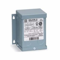 Square D 5S40F TRANSFORMER DRY 1PH 5KVA 480V-120/240V,1-Phase,115 Deg. C,120/240V@60Hz,180 Degrees C,480V,5kVA,General Purpose - Intended for power, heating and lighting applications,Painted Steel,Sealed,Wall,cULus Listed