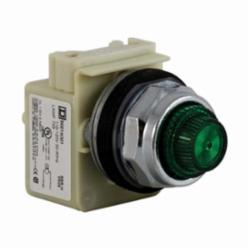 Schneider Electric 9001KP1G31 PILOT LIGHT 120VAC 30MM TYPE K +OPTIONS,30mm,Harmony,NEMA 1/2/3/3R/4/6/12/13,Panel,Pilot Light,Round,Signalling,Transformer 110/120VAC@50/60Hz,UL, CSA, CE,chromium plated metal,normal