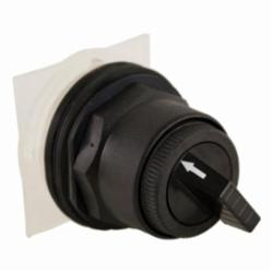 Square D™ Harmony™ 9001SKS11B Non-Illuminated Selector Switch Operator, 30 mm, Round Knob Operator, 2 Positions, Black