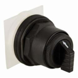 Square D™ Harmony™ 9001SKS53B Non-Illuminated Selector Switch Operator, 30 mm, Round Knob Operator, 3 Positions, Black