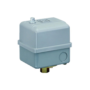 Square D 9013GHG2J53X PRESSURE SWITCH 575VAC 5HP G +OPTIONS,0.25 inch NPSF internal conforming to UL 508,100...125 psi,20...40 psi,200 psi (40...170 psi),65...200 psi,2-way pressure release valve,300 PSIG,40 to 170 PSIG,DPST,General Purpose (Indoor),NEMA 1,Pressure Switch,Pumptrol,Screw Clamp,UL listed, CSA,air (-22...257 deg.F)-fresh water (-22...257 deg.F),control electrically driven water pumps and air compressors