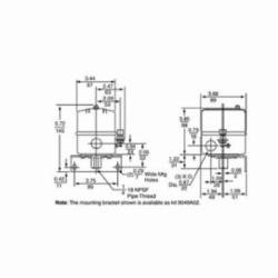 Square D 9013GSG2J20 PRESSURE SWITCH 575VAC 5HP G +OPTIONS,-,0.25 inch NPSF internal conforming to UL 508,15...30 psi,20...40 psi,20...80 psi,80 psi (5...60 psi),300 PSIG,5 to 60 PSIG,DPST,General Purpose (Indoor),NEMA 1,Pressure Switch,Pumptrol,Screw Clamp,UL listed, CSA,control electrically driven water pumps and air compressors,fresh water (-22...257 deg.F)-air (-22...257 deg.F)