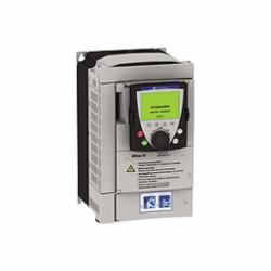 Schneider Electric ATV61HU30N4 SPEED DRIVE, 4HP,460V,ATV61,150 of nominal motor torque for 2 seconds, 110 for 60 seconds,3 phases,3-Phase,3-Phase,3kW,400/480VAC,7.8A 4HP,AC Drive,AI1-/AI1+, AI2, AO1, R1A, R1B, R1C, R2A, R2B, LI1...LI6, PWR terminal 2.5 mmA? / AWG 14L1/R, L2/S, L3/T, U/T1, V/T2, W/T3, PC/-, PO, PA/+, PA, PB terminal 6 mmA? / AWG 8,Altivar 61,Altivar 61,Frame 3,Graphic display keypad,IP20,Input 50/60 Hz,UL, CSA, CE, ABS, DNV, GOST, RoHS, WEEE, C-Tick, NOM 117,Variable Torque