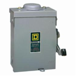 Square D D221NRB SWITCH FUSIBLE GD 240V 30A 2P NEMA3R,240 Vac,30 A,Galvannealed Steel,Lugs,NEMA 3R,Rainproof and Sleet/Ice proof (Indoor/Outdoor),Single Throw,Single Throw Safety Switch,UL Listed File E2875,general duty,general duty,surface