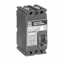 Square D FAL24100 MOLDED CASE CIRCUIT BREAKER 480V 100A,100 A,480 V AC, 250 V DC,50/60 Hz,F,Hold 900 A, Trip 1700 A,Molded Case Circuit Breaker,Thermal Magnetic,UL listed, CSA, IEC,standard