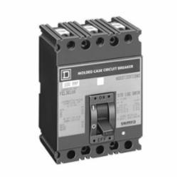 Square D FAL34100 MOLDED CASE CIRCUIT BREAKER 480V 100A,100 A,480 V AC,50/60 Hz,F-frame,Molded Case Circuit Breaker,Thermal Magnetic,UL, CSA