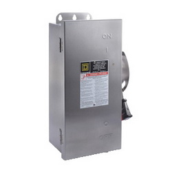 Square D H322DS SW FUSIBLE 60A 3P NEMA4 4X 5 STAINLESS,250 V DC-240 V AC,304 Stainless Steel,60 A,Lugs,NEMA 3/3R4/4X/12,Rainproof, Dust tight and Corrosion Resistant (Indoor/Outdoor),Single Throw,Single Throw Safety Switch,UL Listed,heavy duty,heavy duty,surface