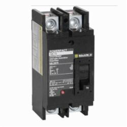 Square D QBL22200 by Schneider Electric MOLDED CASE CIRCUIT BREAKER 240V 200A,-13F and 158F (-25 C and +70 C),10kA@240Vac,2,200A,240 Vac,50/60Hz,Hold 1200A - Trip 2400A,Line Lug - Load Lug,Molded Case Circuit Breaker,PowerPact,Provides overload and short circuit protection,Q-Frame,UL Listed - CSA Certified - IEC Rated,Unit Mount