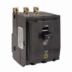 Square D QOB335 MINIATURE CIRCUIT BREAKER 240V 35A,10kA,240 Vac,3-Phase,35A,Miniature Circuit Breaker,Pressure Plate #14 to #8 AWG(Al/Cu),Provides overload and short circuit protection,QO,Standard Bolt-On,UL Listed - CSA Certified