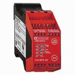 Schneider Electric XPSAV11113 SAFETY RELAY 300V 2.5AMP PREVENTA,24 V DC,35 mm symmetrical DIN rail,CSA, TV, UL, EN 1088/ISO 14119, EN 60204-1, EN/IEC 60947-5-1, EN/ISO 13850,IP20 conforming to EN/IEC 60529(terminals), IP40 conforming to EN/IEC 60529(enclosure),Preventa,Preventa Safety automation,for emergency stop and switch monitoring,Preventa safety module,captive screw clamp terminals,relay instantaneous opening 3 NO, relay time delay opening 3 NO