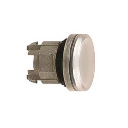 Schneider Electric ZB4BV013 PILOT LIGHT HEAD LED WHITE,22mm Round,Chromium Plated Metal,Harmony,IP 65,NEMA 1/2/3/4/4X/13,Pilot Light Head,UL Listed File Number E164353 CCN NKCR - CSA Certified File Number LR44087 Class 321103 - CE Marked,White Unmarked