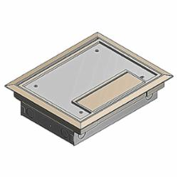 STL-CTY AFM-6S2-BGE FLOOR BOX *********MADE TO ORDER***********
