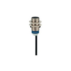 Schneider Electric XS618B1PAL2 PROXIMITY SENSOR 18MM DC PNP XS6,-25...70 deg.C,1 LED (yellow) for output state,10...58 V DC,12...48 V DC with reverse polarity protection,2 m,cable,62 mm,62 mm,cylindrical M18,nickel plated brass,62 mm,inductive proximity sensor,8mm,<= 1000 Hz,DC 3-Wire (PNP) - 1 N.O.,E2-UL-CSA,IP68 double insulation conforming to IEC 60529-IP69K conforming to DIN 40050,Osiprox,Water tight, Dust tight, Oil tight, Corrosion Resistant and Submersible (Indoor/Outdoor),flush mountable,general purpose,mobile equipment,inductive proximity sensor,metal