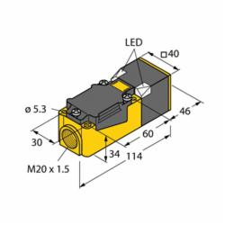 TUR BI15-CP40-FZ3X2 PROX SENSOR (13410)