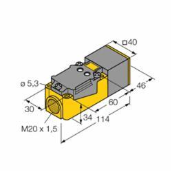 TUR BI15-CP40-VDZ3X2 SENSOR (M4222700)