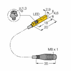 TURCK BIM-UNR-AP6X-0.3M-PSG 3S W/M (S4685843)