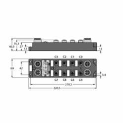 TUR FDNP-L0808H-TT INTERLINE MODULE ACC (F0096)