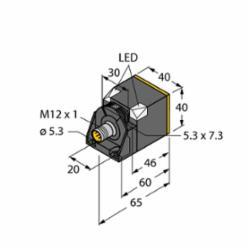 TURCK NI50U-CK40-AN6X2-H1141 W/BS 4 (M1625823)