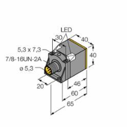 TURCK NI25U-CK40-AP6X2-B1141 W/BS 2.1 (M1625792)