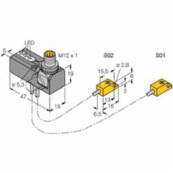 TURCK NI 2-ISI-0.055-BDS-2AP6X3-H1141/S34 (M1650130)