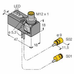 TURCK NI2-K09-.095/.11-BDS2AP6X3H1141/S34 (M1650039)