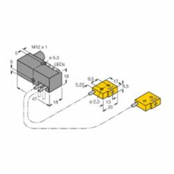 TUR NI2-Q6.5-AP6-0.16-FS4.4X3/S304