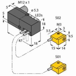 TUR NI2-Q9.5-AP6-0.1-FS4.4X3/S304 (1650060)