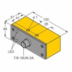 TUR NI30-Q130-VP4X2-B2141 Sensor, Quick Disconnect with Minifast (M1518001)