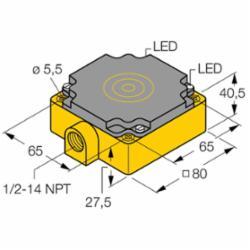TURCK NI75U-CP80-AP6X2 (M1623801)