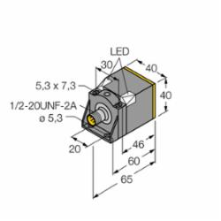 TURCK NI35U-CK40-ADZ30X2-B3131 W/BS4 (M4280431)