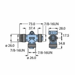 TURCK RSM-2RKM 57 (U0141)