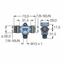 TURCK RSM FKM RKM 57 (U0142)