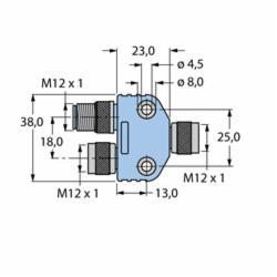 TURCK VB2-FKM/FKM/FSM 57 (U0095-5)