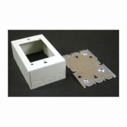 WM V5748 1G SW&RCPT BOX IVORY