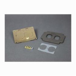 WLK 828R BRS DPLX CVR PLATE