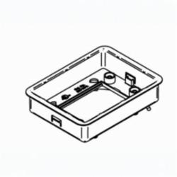 WLK 880MPA RECT PVC BOX ADJ RING