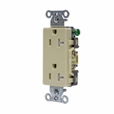 hubbell wiring device kellems tamp res deco face 20a 125v iv rh steinerelectric com