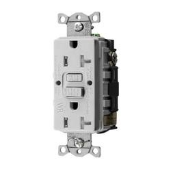 Hubbell Wiring Device-Kellems 20A COM SELF TEST TRWR GFR WHITE