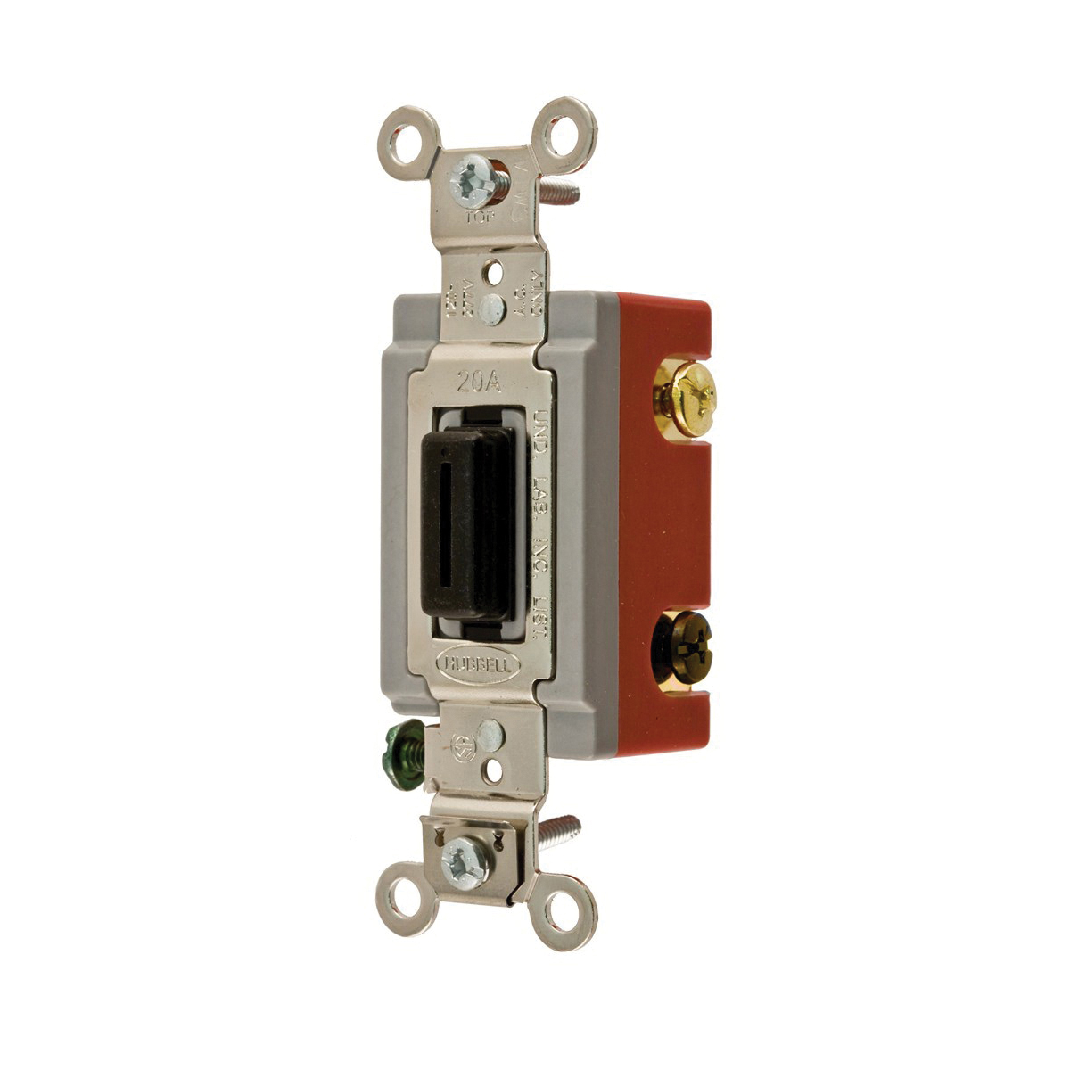 Wiring Device-Kellems HBL1223L 3-Way Extra Heavy Duty Locking Toggle ...