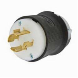 Hubbell Wiring Device-Kellems LKG PLUG, 20A 3P 480V, L16-20P, B/W