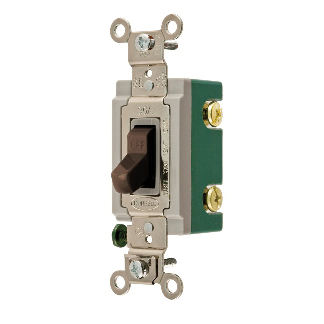Wiring Device-Kellems HBL3032 Extra Heavy Duty Toggle Switch, 120 ...