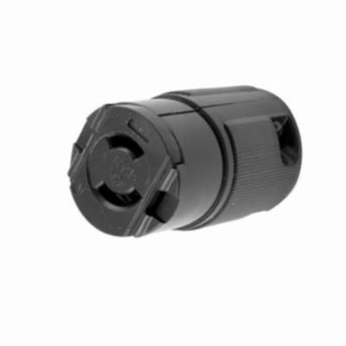 Connector electrical lock midget twist